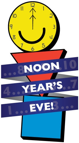 ring in the new year at a kid friendly hour this year join the staff and board of my museum on december 31 10am 1230pm for an unforgettable noon years